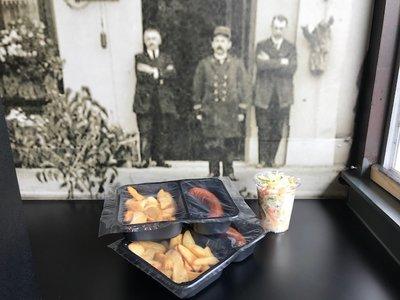 Daghap 13 augustus: Braadworst, rauwkost en gebakken aardappelen