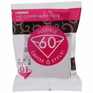 Hario V60 filter 01 100 stuks