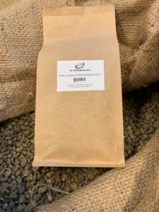 Filterbranding koffie Indonesië Mandheling Grade 1